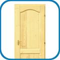 Classic íves 2 kazettás fenyő ajtók